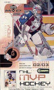 2002-03 UD MVP