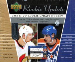 2002-03 UD Rookie Update