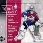 2002-03 UD Top Shelf