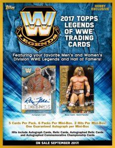 2017 Topps Legends of WWE Wrestling