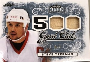 500 Goal Club Steve Yzerman