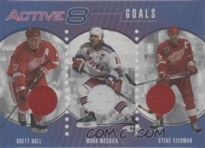 Active 8 Brett Hull, Mark Messier, Steve Yzerman