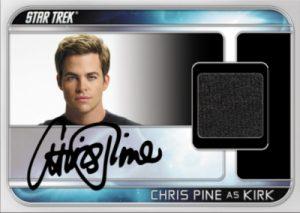 9 Case Auto Relic Chris Pine