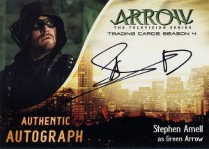 Autographs Stephen Amell