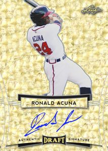 Base Autographs Ronald Acuna