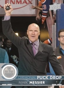 Ceremonial Puck Drop Mark Messier