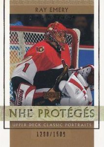 Classic Portraits NHL Proteges Ray Emery
