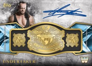 Commemorative Retired Championship Belt Autos The Undertaker