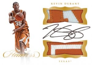 Dual Patch Autographs Kevin Durant