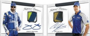 Dual Signature Materials Booklet Jimmie Johnson, Chad Knaus