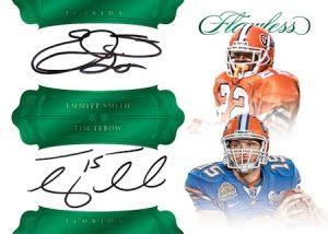 Dual Signatures Emmitt Smith, Tim Tebow