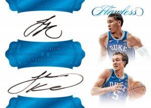 Dual Signatures Jayson Tatum, Luke Kennard