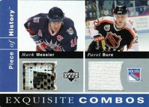 Exquisite Combos Pavel Bure, Mark Messier