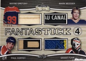 Fantastick 4 Wayne Gretzky, Mark Messier, Paul Coffey, Grant Fuhr
