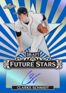 Future Stars Autographs Clarke Schmidt