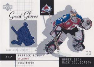 Great Gloves Patrick Roy