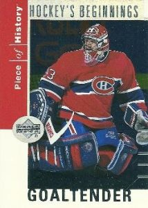 Hockey's Beginnings Patrick Roy