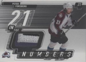 In the Numbers Peter Forsberg