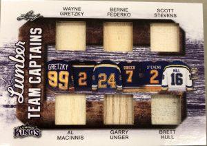 Lumber Team Captains Wayne, Gretzky, Bernie Federko, Scott Stevens, Al MacInnis, Garry Unger, Brett Hull
