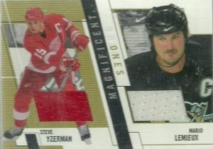 Magnificent Ones Steve Yzerman, Mario Lemieux