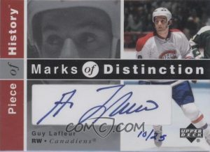 Marks of Distinction Guy Lafleur