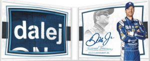 Nameplate Patch Signature Booklet Dale Earnhardt Jr