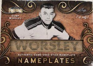 Nameplates Gump Worlsey