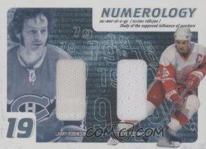 Numerology Larry Robinson, Steve Yzerman