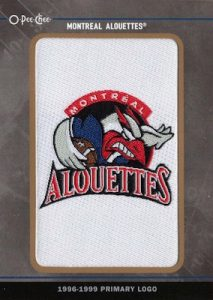OPC Team Logo Manufactured Patch Montreal Alouttes