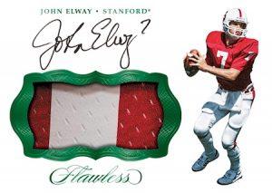 Patch Autograph Emerald John Elway