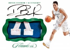 Patch Autographs Devin Booker