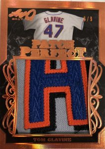 Patch Perfect Tom Glavine