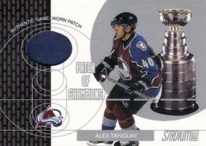 Patch of Champions Alex Tanguay