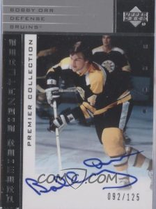 Premier Signatures Silver Bobby Orr