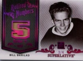 Retired Numbers Bill Barilko