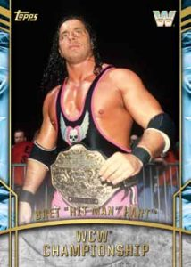 Retired Titles WCW Championship Bret The Hit Man Hart