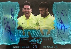 Rivals Autographs Lionel Messi, Neymar Jr