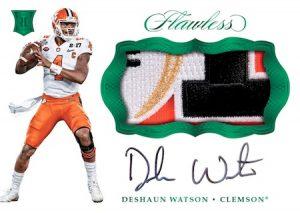 Rookie Patch Autographs Deshaun Watson