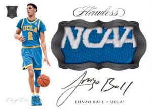 Rookie Patch Autographs Lonzo Ball