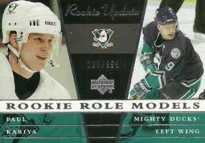 Rookie Role Models Paul Kariya