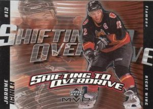 Shifting to Overdrive Jarome Iginla