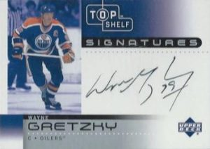 Signatures Wayne Gretzky