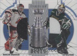 Stanley Cup Duals Martin Brodeur, Ed Belfour