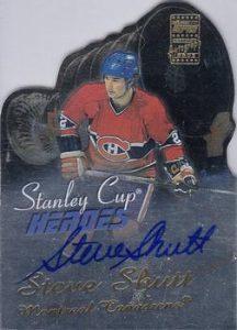 Stanley Cup Heroes Autographs Steve Shutt