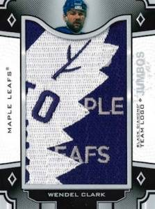 Team Logo Jumbo Manufactured Patch Wendel Clark