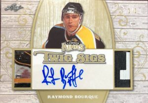 Twig Sigs Ray Bourque