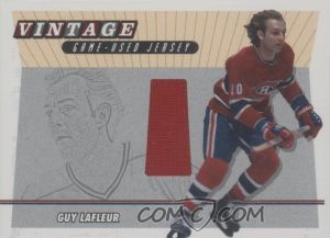 Vintage Game-Used Jersey Guy Lafleur