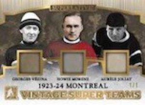 Vintage Super Teams Montreal Georges Vézina, Howie Morenz, Aurèle Joliat