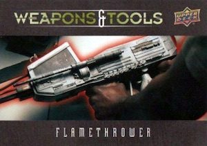 Weapons and Tools Flamethrower