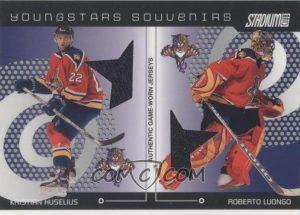 Young Stars Souvenirs Dual Kristian Huselius, Roberto Luongo